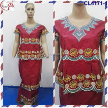 CL4171 Beautiful good quality new design african bazin riche for women