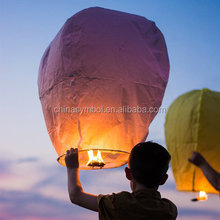 festival decoration sky paper lanterns chinese cheap kongming lanterns Flying Wishing Lantern Decor For Outdoor Party Decoration