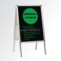 aluminum pavement display a frame sign for outdoor advertising sign