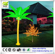 reasonable price led coconut tree light