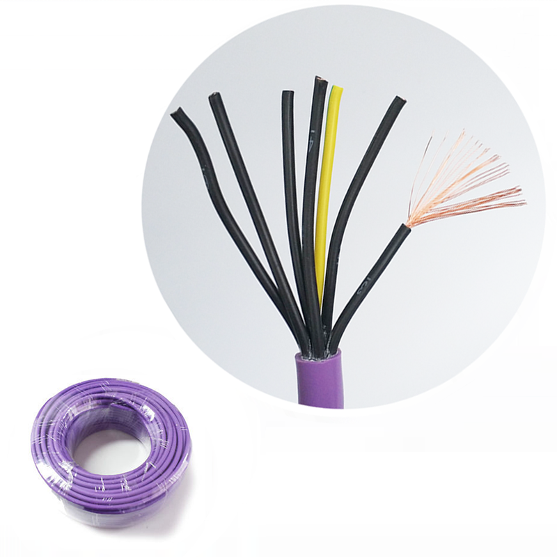 Multicore PVC Sheath <strong>H05VV</strong>-F 1.5mm2 7 Core Electrical Control <strong>Cable</strong>