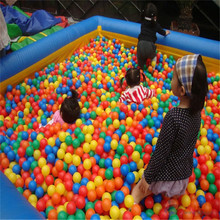 Commercial Giant inflatable Water ball pit pool/inflatable swimming pool for kids