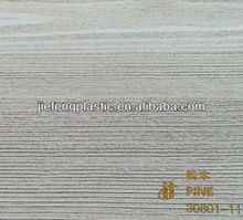 waterproof wood grain decorative laminating windows pvc foil