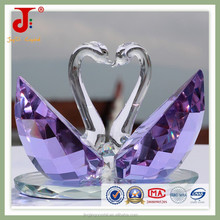 The latest design crystal craft swan