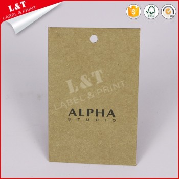 Customized Recycled Kraft Tags Wholesale
