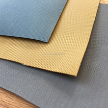 Tan khaki Hypalon Rubber Fabric for Boats with Matt Surface Inserted Rubber Sheets