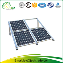 Aluminum solar panel frame supporting structure/Aluminium profiles customized solar frame