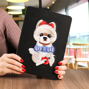 Hot selling material safe dust-proof fashionable customized painting case for 2017 new ipad