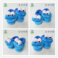 Promotional cheap warm cartoon character baby shoes