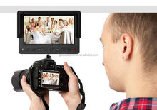 7inch portable on camera LCD field monitor for photography with HDMI