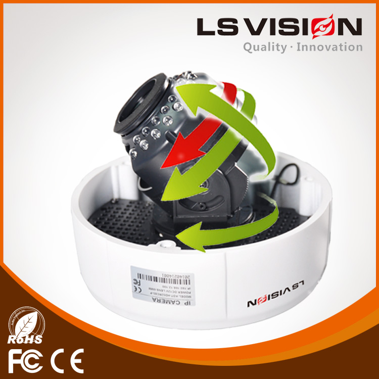 LS VISION plastic dome ir camera camera dome ir outdoor cctv dome camera case