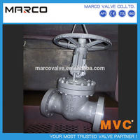 Hot sale standard full bore casting or forging flanged/bw end six 6 inch gate valve or larger