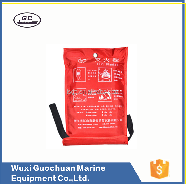 Safety Equipment fire blanket made in Jiangsu for marine use IMPA330950