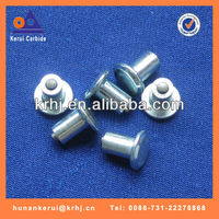 Durable solid tungsten carbide ice tyre studs for ATV/UTV,tungsten carbide tire studs
