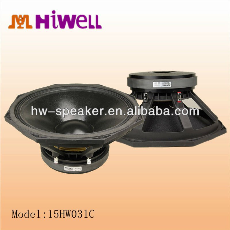 4inch voice coil powerful pro audio