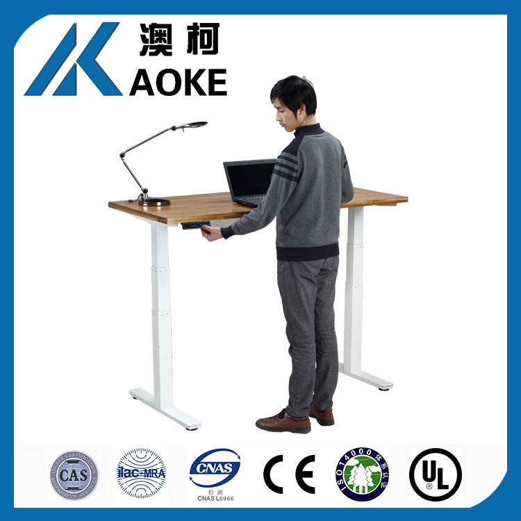 office furniture adjustable height desk electric lifting table