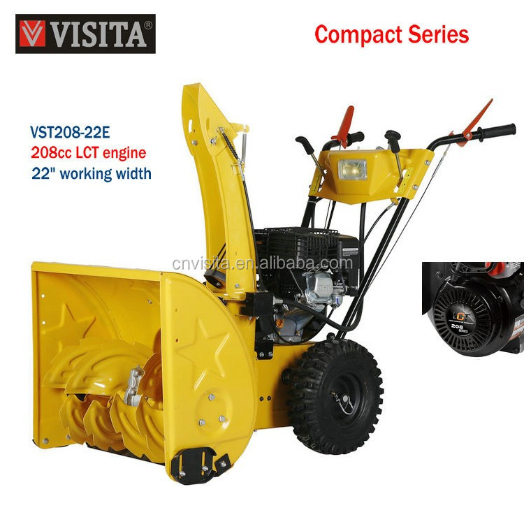 208cc LCT CE High Quality Compact Gasoline Snow Blower