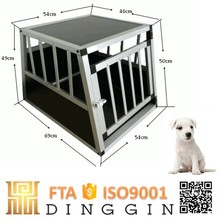Big animal aluminum dog cage car