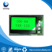 132X64 dot matrix display with SPI interface