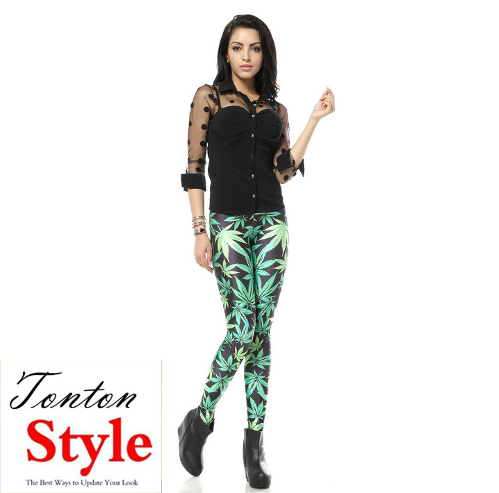 wholesale custom printed hot sex beautiful girls leggings girls 2014 fashion ladies shiny leggings sex photo