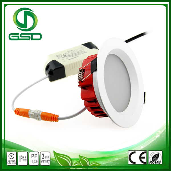 Geshide NEW Arrival LED Downlight/LED Downlight Housing 120 degree adjustable with CE/ROHS/3 Years Warranty