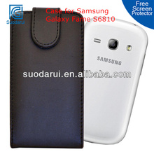 Mix Colors, For Samsung Galaxy Fame S6810 PU Leather Flip Case
