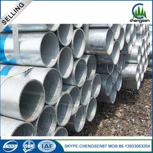 4 inch 3.8mm galvanized iron tube galvanized steel pipe gi emt conduit steel pipe