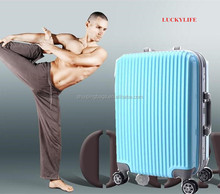 Aluminum Trolley Suitcase With Laptop Compartment, Urtralight Fashion Luggage, Luxury Trolley Luggage Bag
