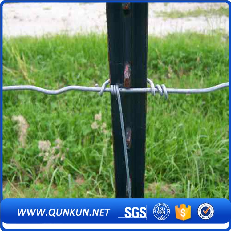 Superior Quality PVC Coated Waterproof Fence T Post And Y Posts For Fixing Plants