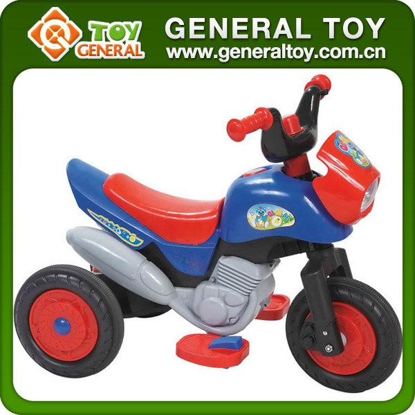 70*40*54cm 6V4A Plastic Children Electric Motor Car Toy With Light Music
