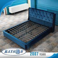 China Wholesale Customized Full Size King Platform Bed