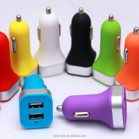 Factory wholesale high quality multi usb port car charger,used car battery charger sale ,5v 2a usb car charger power adapter