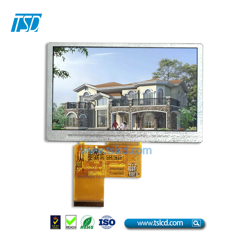 Wholesale 12 o'clock optimum viewing angle 4.3inch tft lcd 480x272 resolution on hot sale