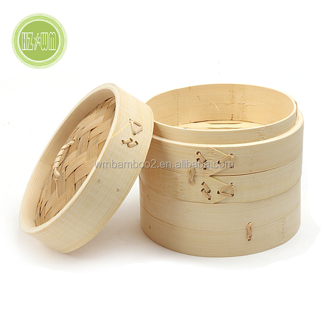 Chinese Cheap Kitchen Cookware Set Baby Food Health Bamboo Rice Steamer