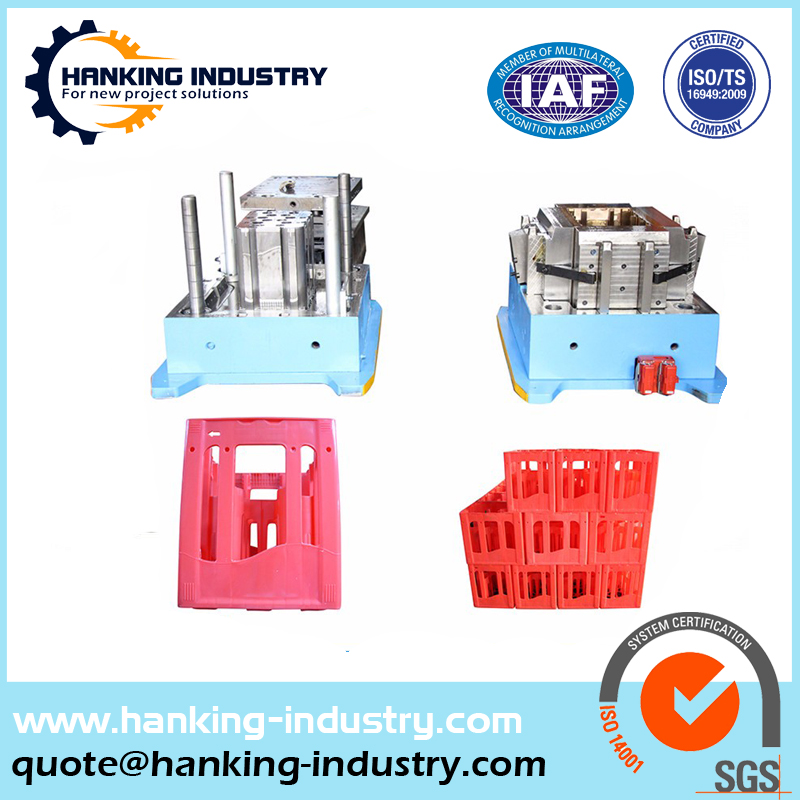 Custom Bottles Beer Case/Crate Plastic Injection Mould