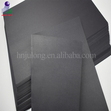 Wholesale 1mm black cardboard paper sheets in cards paper type for packaging