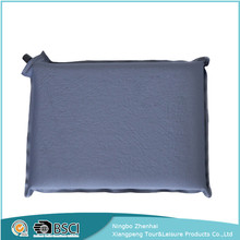 Wholesale custom outdoor waterproof folding self inflating chair cushions pads