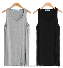 2017 Ladies comfortable 95% modal 5% elastane womens tank top