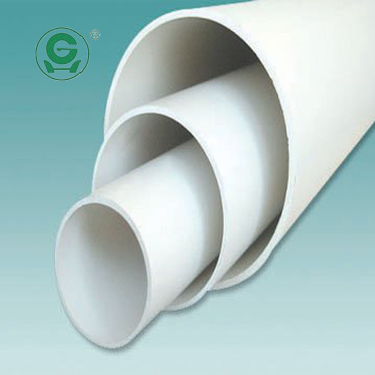 DIN Standrad 200mm grey pvc drainage pipe