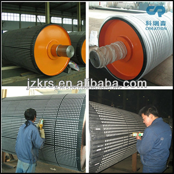 Creation Ceramic Lagging Conveyor Pulleys