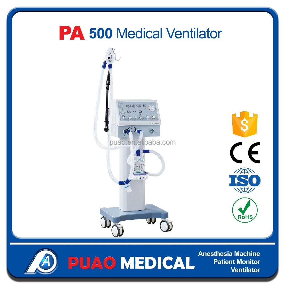Promotion ICU /medical Mobile Ambulance Ventilator PA-500 hot selling