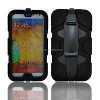 2015 New product rugged heavy duty dual Layer Shockproof PC+Silicone hybrid Case Cover For Samsung Galaxy Note 3
