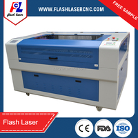 80w RECI wood laser cutter 1300*900mm for 3D plane models