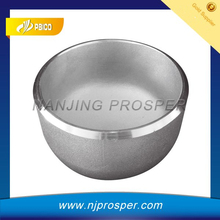 Pipe End Cap in Stainless Steel for pipe edge protection/pipe fitting