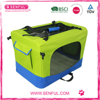 Crate Soft Sided Pet Carrier - Foldable Portable Soft Pet Crate Training Kennel - Great for Indoor or Outdoor