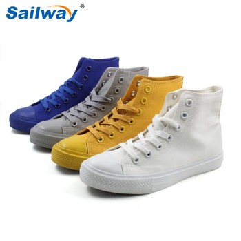 wholesale canvas shoes white canvas shoes wholesale, ladies fit shoes, women blank sneakers ...