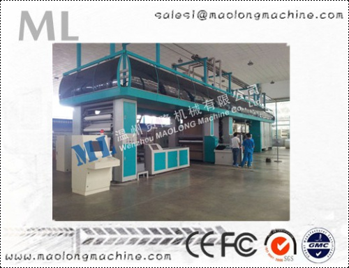 ML-WXS energy conservation flexograpgc printing machine