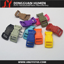 New colored 1/2 curved plastic buckle,breakaway buckle,plastic buckles for dog collars