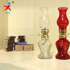wholesale transparent glass candle holders/ Kerosene lamp
