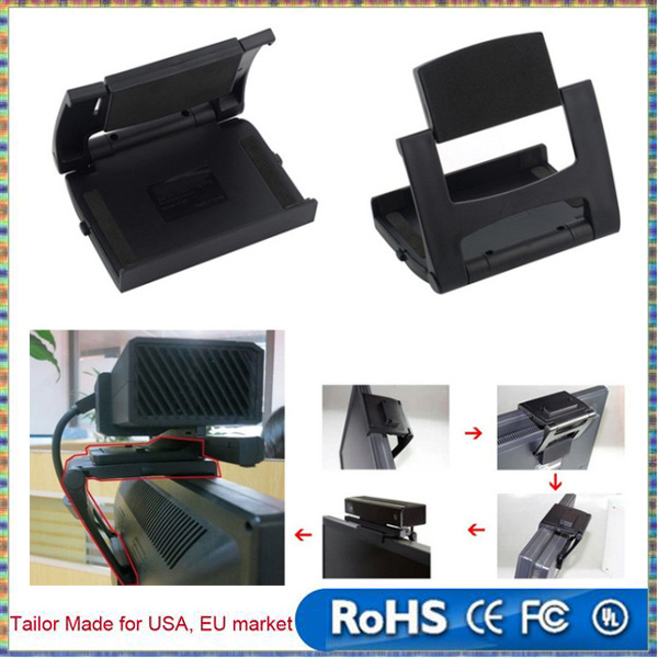 TV Clip Mount Stand Holder Bracket For Microsoft For XBOX ONE Kinect 2.0 Game